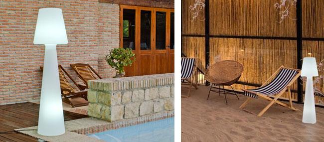 casa light un lampadaire ext rieur pour terrasse et jardin 01 blog d co. Black Bedroom Furniture Sets. Home Design Ideas