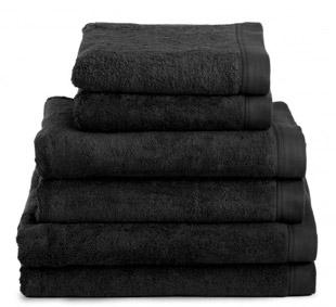 la serviette de bain noire un classique tendance 01 blog d co. Black Bedroom Furniture Sets. Home Design Ideas